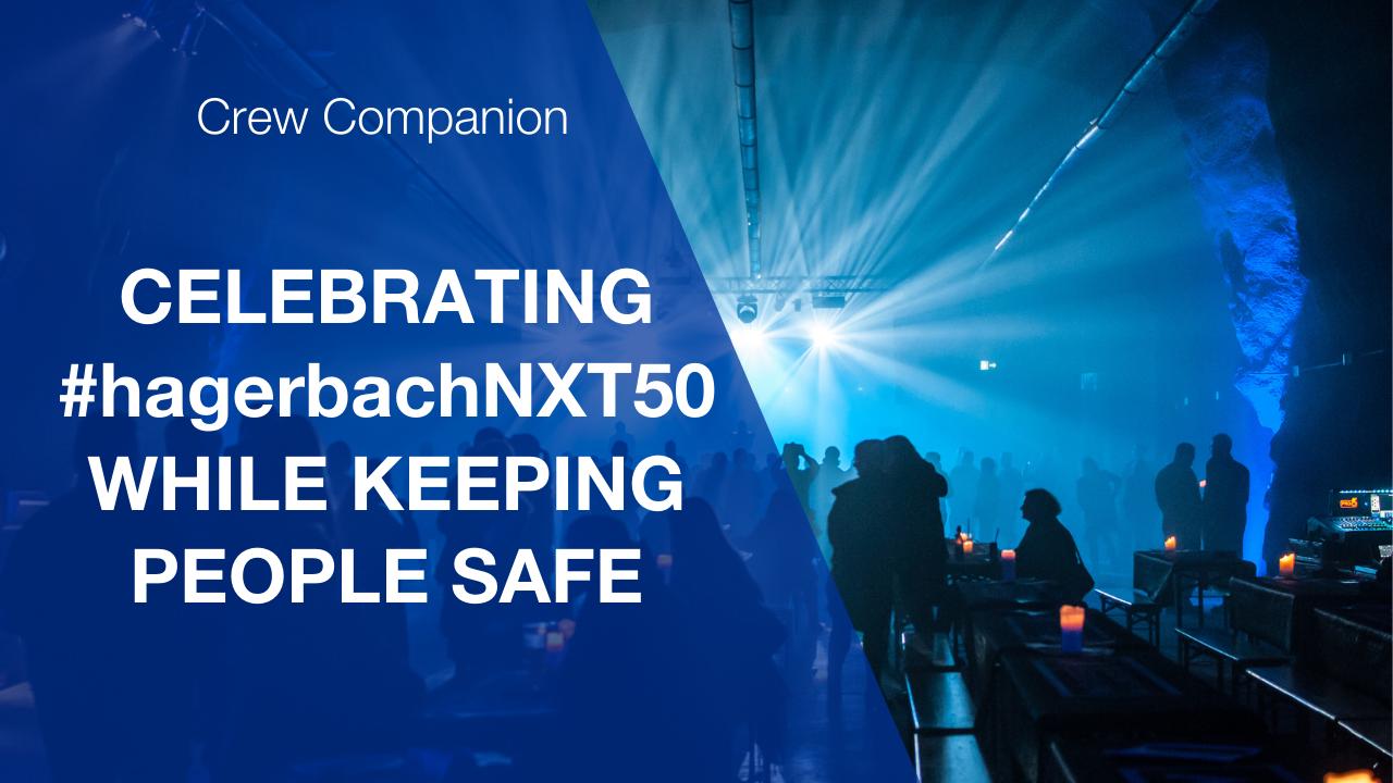 Crew Companion at VersuchsStollen Hagerbach, Switzerland celebrating #hagerbachnxt50